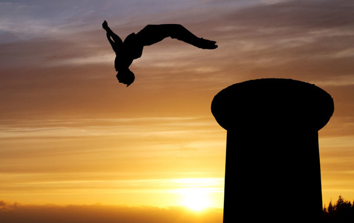 Parkour sport ufficiale in UK
